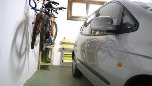 Portabicis para garaje